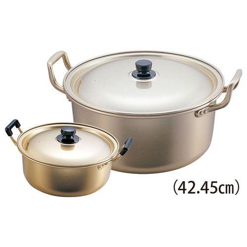 アカオアルミ しゅう酸実用鍋 45cm AZT04045