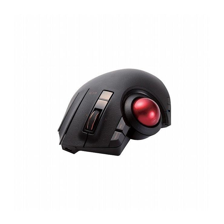 エレコム トラックボールマウス 8ボタン 3年保証 親指 チルトホイール Bluetooth ブラック(黒) M-XPT1MRBK(代引不可)【送料無料】