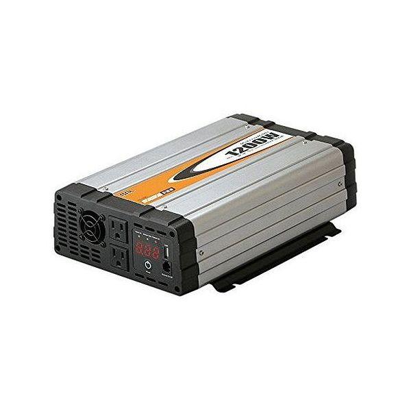 大橋産業(BAL) 車用 DC/AC正弦波インバーター1200W 490