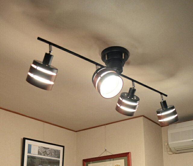 シーリングライト led リモコン 天井照明 ライト 照明 ROMEO ロメオ Lucerca ルチェルカ シーリングスポットライト LC10810 LC10820 電球付タイプ 【HLS_DU】(代引き不可)【S1】