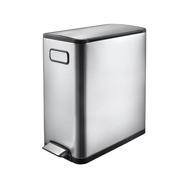 EKO エコフライ ステップビン 20L ステンレス ゴミ箱 ごみ箱 1年保証 ダストボックス キEK9377MT-20L【送料無料】【int_d11】