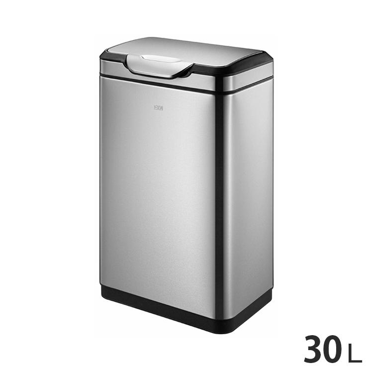 EKO タッチビン 横型 30L ステンレス ゴミ箱 ごみ箱 1年保証 ダストボックス キッチン 台所 EK9178MP-30L EK9178MT-30L【送料無料】