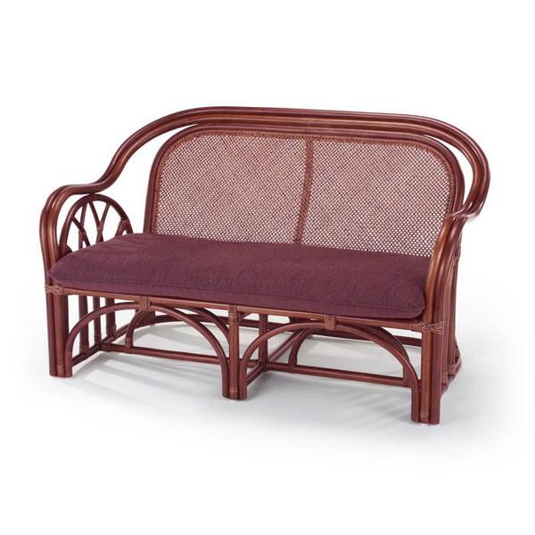 今枝ラタン アジアン 籐ラタン ラブチェアー 家具 椅子 イス いす ソファ リビング インテリア A-321D【送料無料】