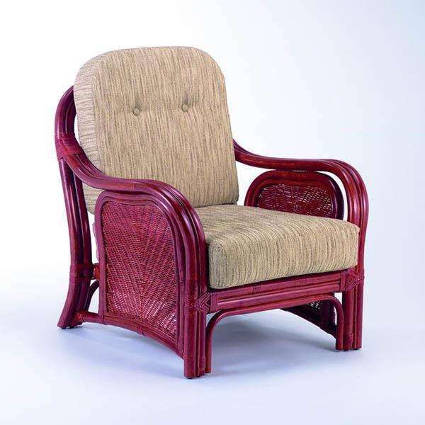 今枝ラタン アームチェア アームチェアー 籐 肘付きー アジアン 籐椅子 おしゃれ ソファ 1人掛け ソファー A-78D【送料無料】
