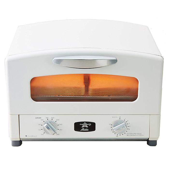 グリーンウッド アラジン グラファイト グリル&トースター AET-G13N ホワイト【送料無料】【inte_D1806】