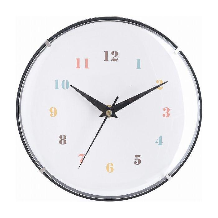 掛時計 ココット Φ20cm W200×D40×H200mm 有名な ガラス おしゃれ SIMPLE ウォッチ 代引不可 NEW