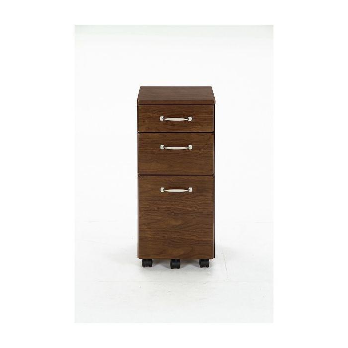 キャビネット W320×D450×H720mm 天然木化粧繊維板 おしゃれ(代引不可)【送料無料】