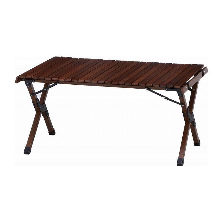 ウッドトップ キャンプ フォールディングテーブル おしゃれ テーブル 幅90×奥行60×高さ44cm 耐荷重 天板30kg(代引不可)【送料無料】