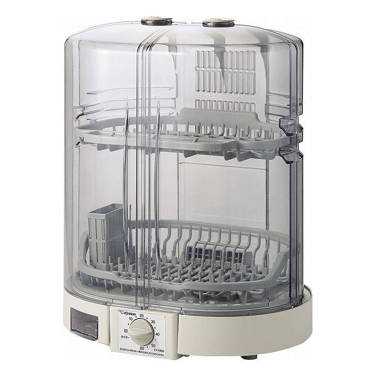 送料無料 象印 食器乾燥機 高品質新品 販売 グレー EY-KB50-HA