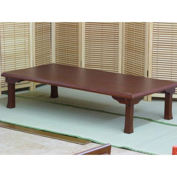 折りたたみ角座卓 座卓 150×78cm テーブル リビングテーブル 折れ脚テーブル ローテーブル(代引不可)【送料無料】