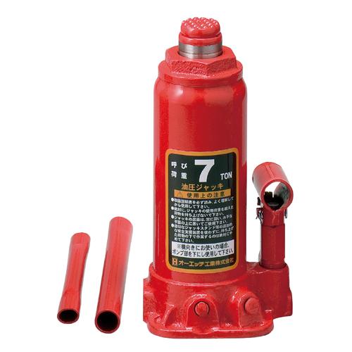OH・油圧ジャッキ‐7T・OJ-7T 作業工具:スリング・ジャッキ:ジャッキ(代引き不可)【送料無料】