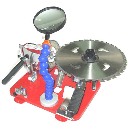 ニシガキ・カンタン刃とぎDX・N-840DX‐ルーペツキ 園芸機器:刈払機:刃研ぎ(代引き不可)【送料無料】