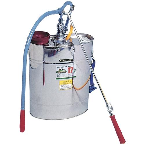 セフティ-3 背負半自動型噴霧器10型 17L (代引不可)【送料無料】