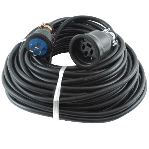 タイカツ・三相200V延長コード・30M-20A 電動工具:電工ドラム・コード:延長コード3(代引き不可)【送料無料】