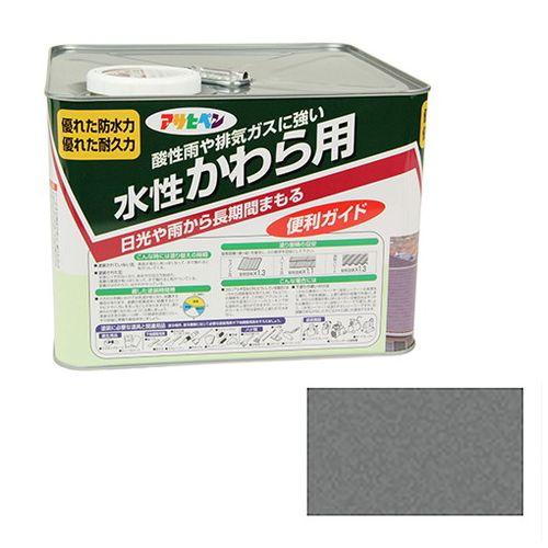 アサヒペン 水性かわら用 7L-ニホンカワラギン【送料無料】