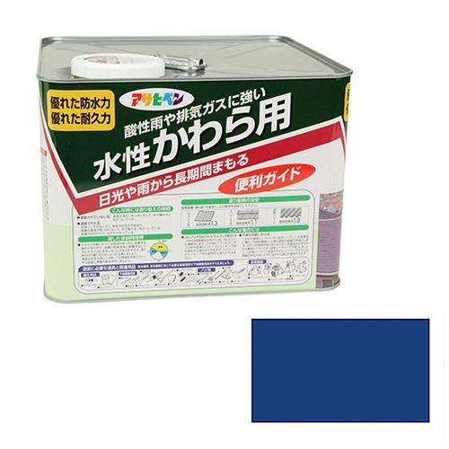 アサヒペン 水性かわら用 7L-スカイブルー【送料無料】