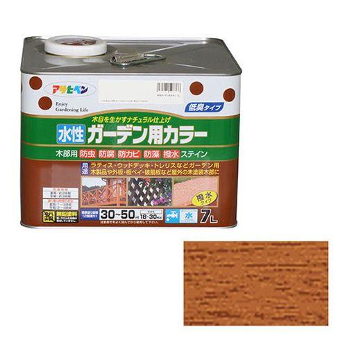 アサヒペン 水性ガーデン用カラー 7L-ライトオーク【送料無料】