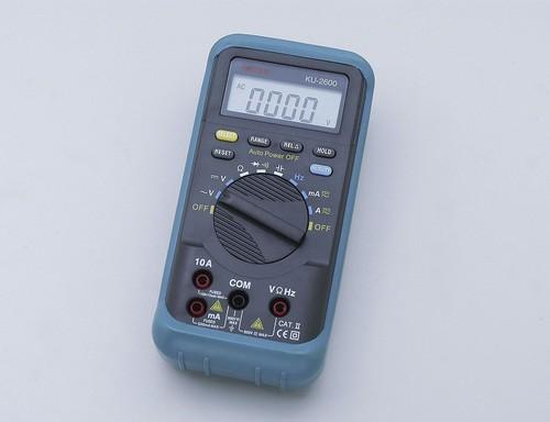 ELPAデジタルマルチメータKU-2600【送料無料】【int_d11】