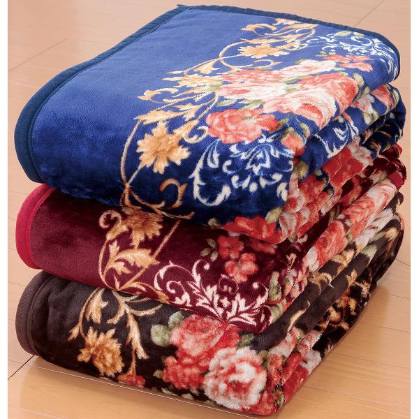 ニューマイヤー毛布 オーロラ敷パッドセット シングル 6点セット 毛布3枚 敷パッド3枚 マイクロファイバー(代引不可)【送料無料】