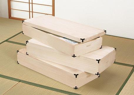 桐製 総桐衣装箱 3個組 幅91×奥行40×高さ16cm 桐たんす 衣装箱 桐 たんす(代引不可)【送料無料】