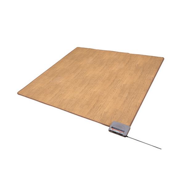 木目調 フローリングホットカーペット 2畳 ホットカーペット カーペット あったか(代引不可)【送料無料】