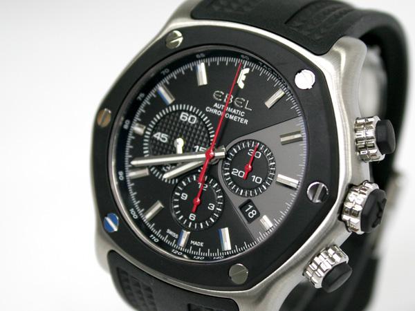 エベル EBEL 腕時計 1911テクトンクロノグラフ 1215886 メンズ 【ポイント10倍】