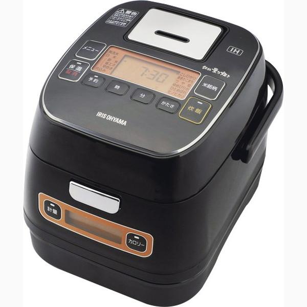 アイリスオーヤマ 銘柄量り炊きIHジャー炊飯器3合 RC-IA31-B(代引不可)【送料無料】