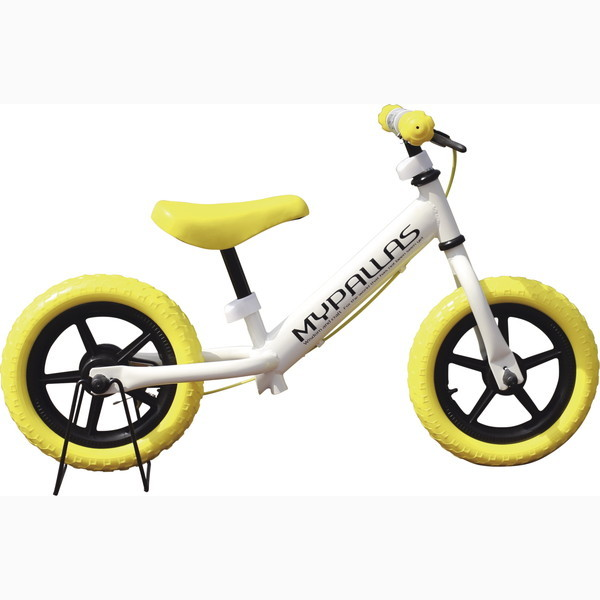 子供用ペダルなし自転車 ちゃりんこマスター イエロー MC-01 Y(代引不可)【送料無料】