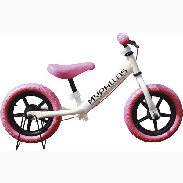 子供用ペダルなし自転車 ちゃりんこマスター ピンク MC-01 P(代引不可)【送料無料】