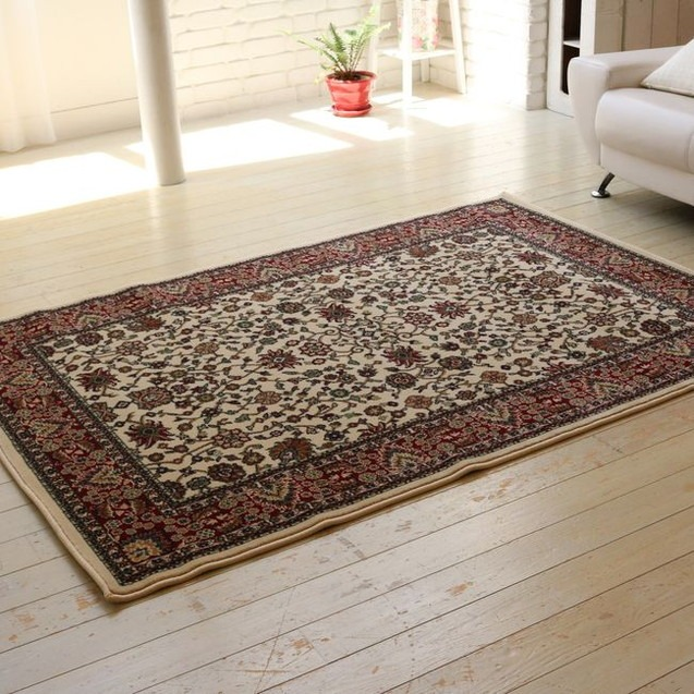 ウィルトン織りラグ 140×200 カーペット 絨毯 じゅうたん ラグ(代引不可)【送料無料】