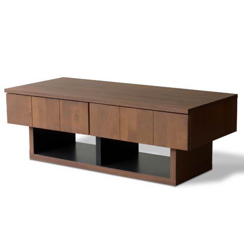 【BRIST-ブリスト】 リビングテーブル 幅110 センターテーブル ローテーブル 木製 お洒落(代引不可)【送料無料】【int_d11】