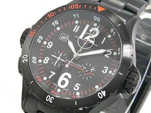 HAMILTON ハミルトン カーキ エアー クロノ 腕時計 H74592133【送料無料】【ポイント10倍】