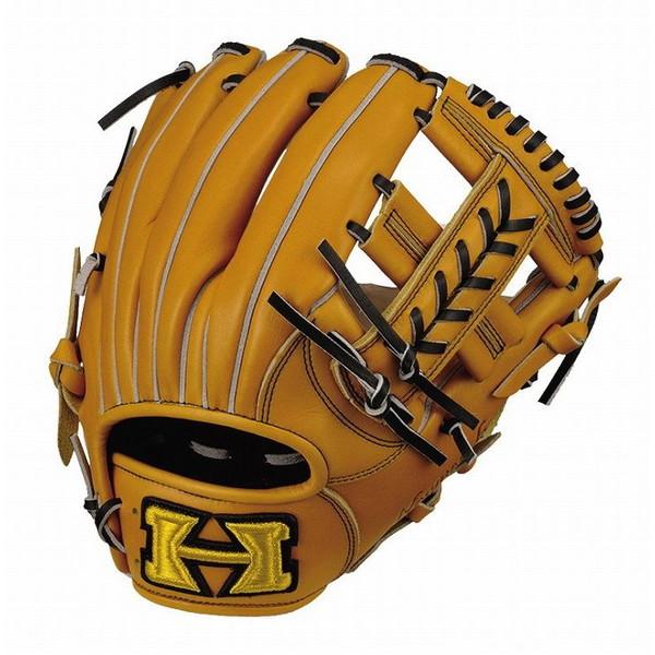 ハイゴールド Hi-Gold OKG-6024 己極 二塁手 遊撃手用 軟式 グラブ ナチュラル 野球 グローブ ベースボール 右投げ 野球用品【送料無料】