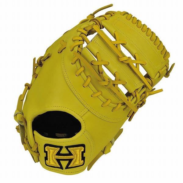 ハイゴールド Hi-Gold KKG-751F 軟式グラブ 心極シリーズ 一塁手用 LH Nイエロー 野球用品【送料無料】