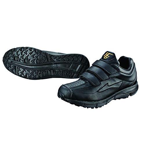 Hi-GOLD ハイゴールド 人工芝対応 トレーニングシューズ PU-3900 ブラック×ブラック 野球 Baseball 軽量 靴 シューズ【ポイント10倍】【送料無料】