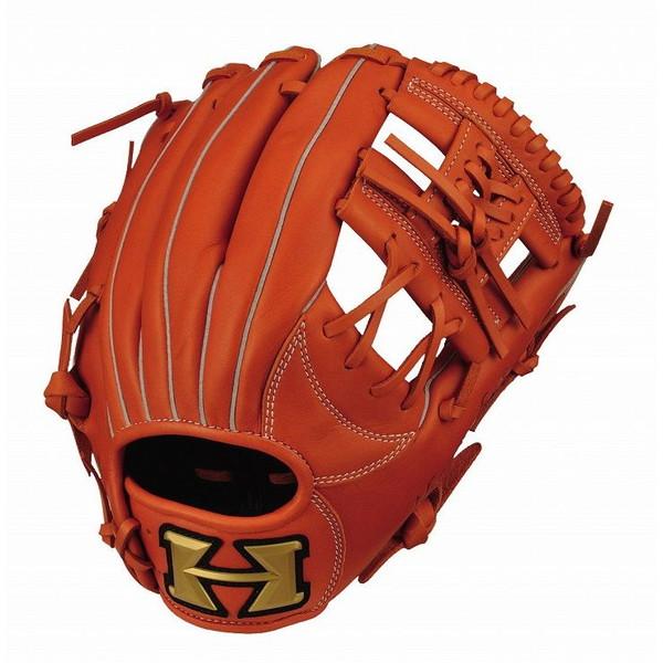 ハイゴールド Hi-Gold RKG-1823 ルーキーズ 少年軟式 グラブ 内野手 少年用 オレンジ 野球 グローブ 右投げ 左投げ 野球用品【送料無料】