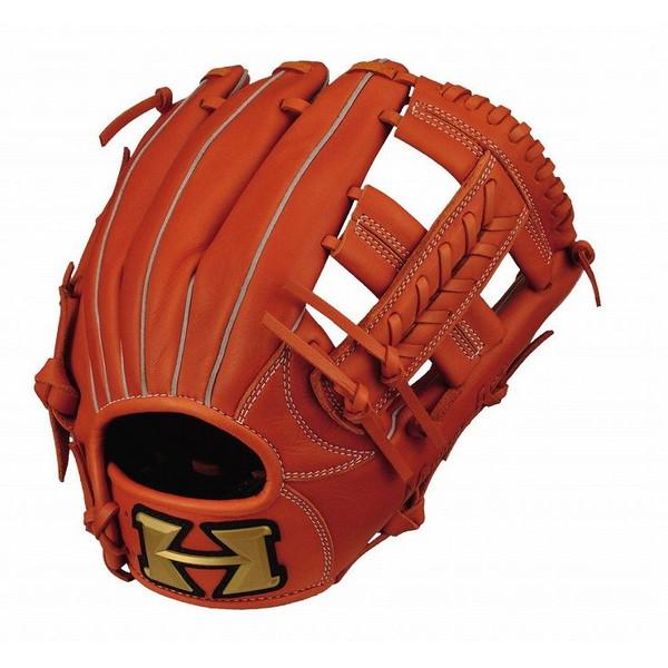 ハイゴールド Hi-Gold RKG-1827 ルーキーズ 少年軟式 グラブ 内野手 少年用 オレンジ 野球 グローブ 右投げ 左投げ 野球用品【送料無料】