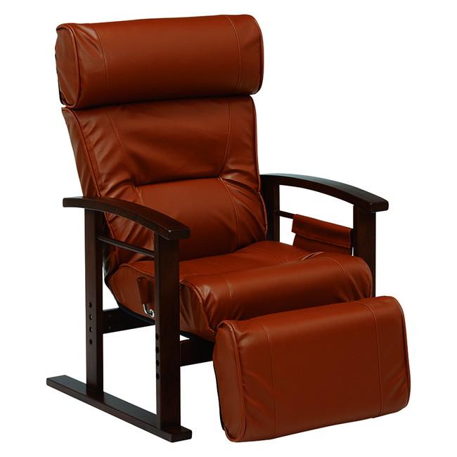 萩原 LZ-4758BR 高座椅子(代引不可)【送料無料】【int_d11】