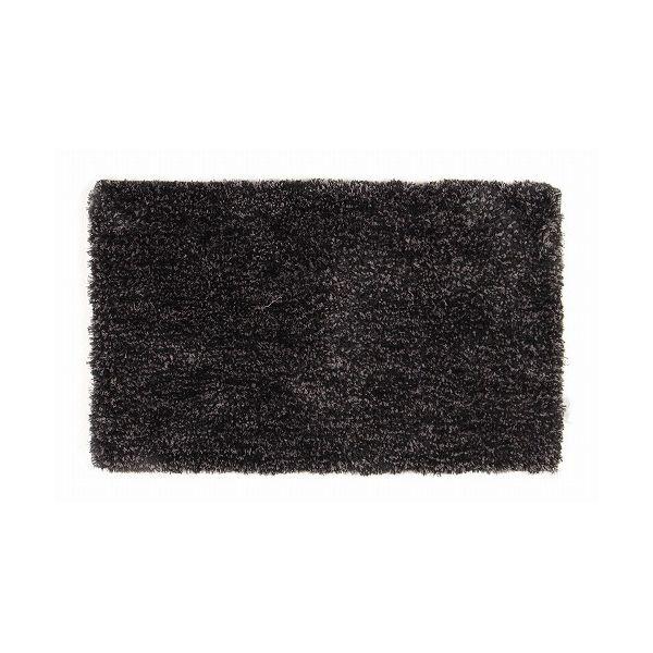 マイクロシャギーラグ カペリ 約130×190cm BK(代引不可)【送料無料】