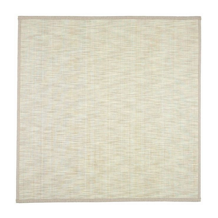 竹ラグ 絣(かすり) 約180×180cm IV(代引不可)【送料無料】