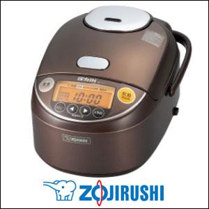 象印 圧力IH炊飯ジャー 極め炊き 5.5合炊き NP-ZA10-TA ブラウン 炊飯器