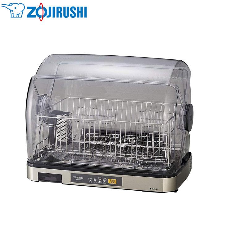 象印 食器乾燥機 6人分収納 EY-SB60-XH ステンレスグレー 食器乾燥 ファミリー用 ステンレス カゴ まな板乾燥【送料無料】