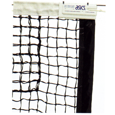 アシックス 硬式テニスネット 国際式全天候硬式テニスネット 118000 ブラック(90)