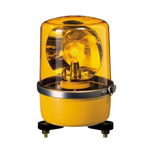 パトライト 中型回転灯黄 SKP-120A-Y