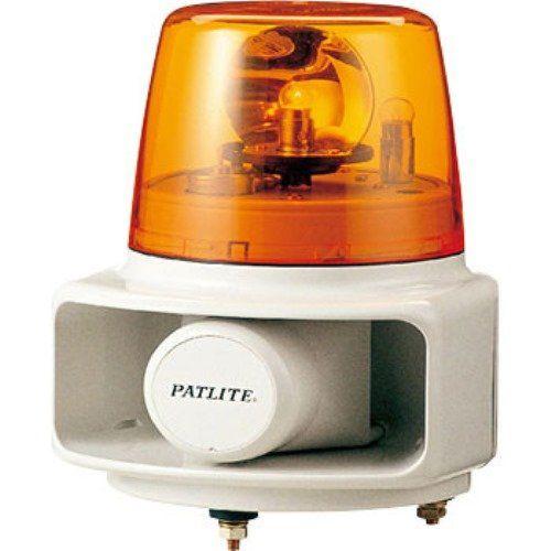 パトライト 電子音回転灯黄 RT-200C-Y
