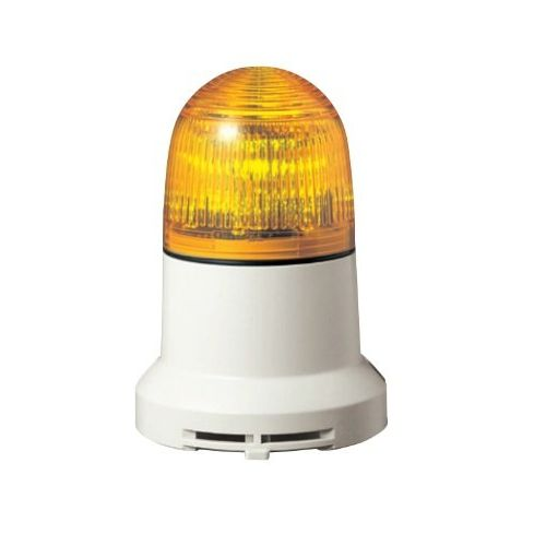 パトライト 小型LED表示灯黄 PEW-200A-Y