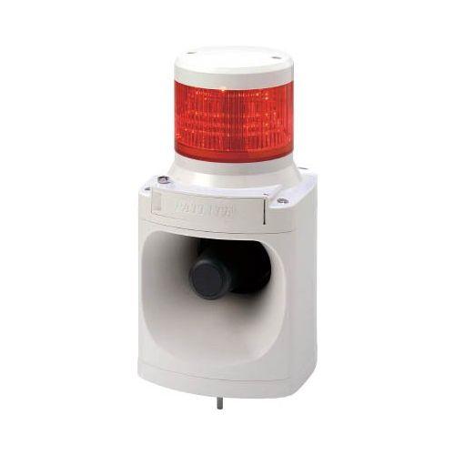 パトライト LED信号灯付電子音報知器赤 LKEH-110FA-R
