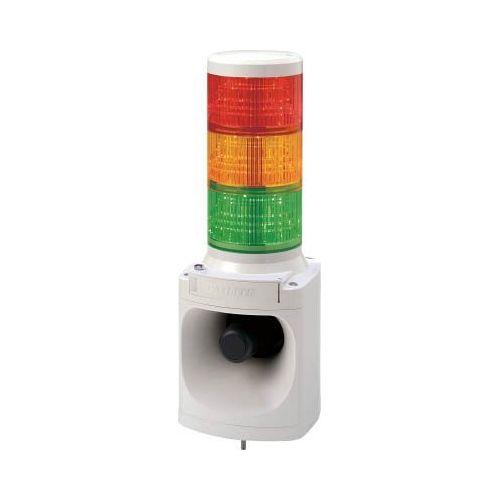 パトライト LED信号電子音報知器赤黄緑 LKEH-320FA-RYG