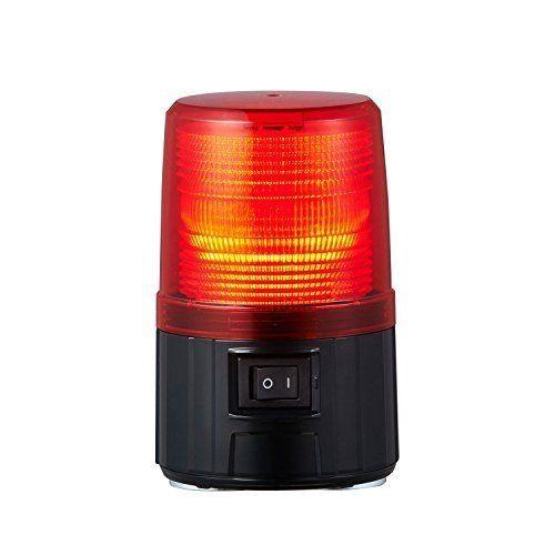 パトライト LEDフラッシュ表示灯赤 PFH-BT-R