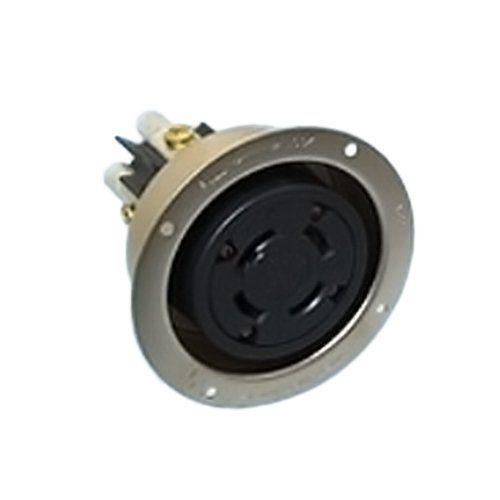 アメリカン電機 引掛形フランジコンセント 41026